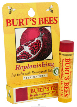 Burt's Bees Replenishing Lip Balm with Pomegranate Oil