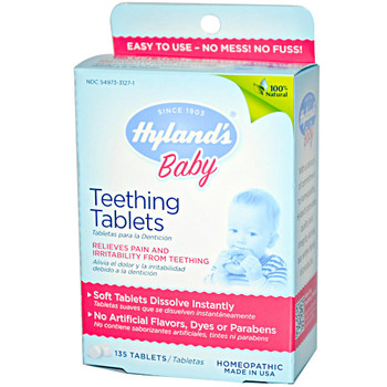 Hyland's Baby Teething, 135 Tablets