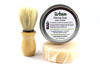Inspired Soap Works Urban Shaving Soap Kit, 100G