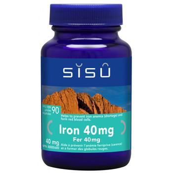 SISU Iron 40mg, 90 Veg Caps
