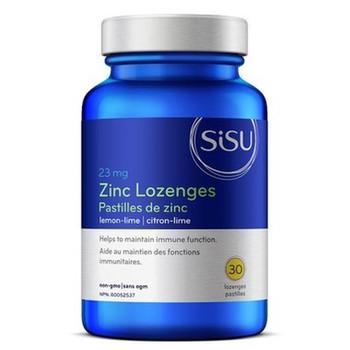 SISU Zinc Lozenges Lemon-Lime, 30 Lozenges