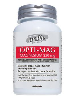 Nu-Life Opti - Mag 250, 60 Caplets