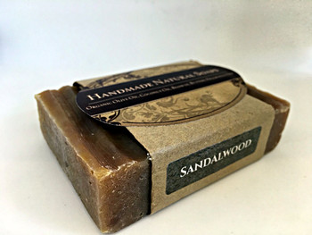 "Handemade Natural Soap "" Sandalwood"", 132G"