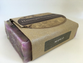 "Handmade Natural Soap "" Mango"", 132G"