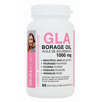 Lorna Vanderhaeghe, GLA Borage Oil 1000mg 90 Softgels