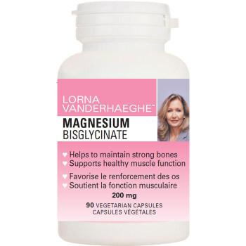 Lorna Vanderhaeghe, Magnesium Bisglycinate 200 mg 90