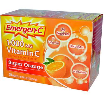 EmergenC 1000mg, Orange Flavour Drink Mix