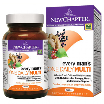 New Chapter Every Man`s Multivitamin, 48 Tablets