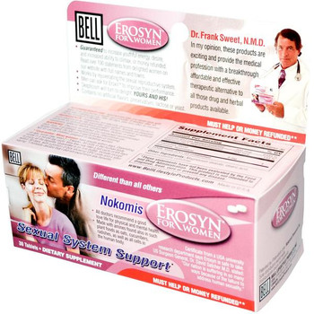 BELL Erosyn For Women, Sexual System Support - 30 Capsules