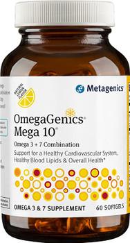 Metagenics OmegaGenics Mega 10, 60 Softgels