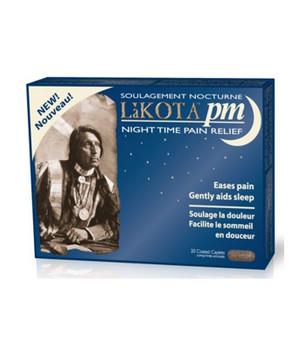 Lakota PM-Night Time Pain Relief, 20 Capsules