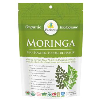 Ecoideas Moringa Powder Large, 227 g