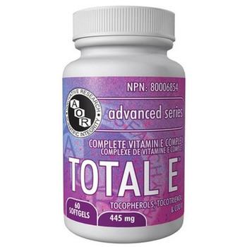 Aor Total E60 Soft Gels, 445 mg