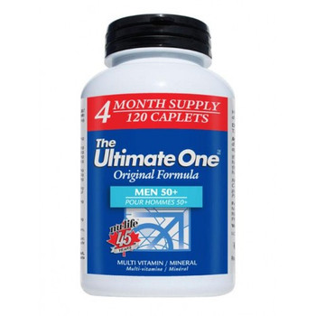 Nu-Life The Ultimate One Active Men 50+ Multivitamin 60 Caplets