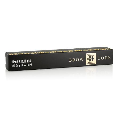 124 Blend & Buff Brow Brush