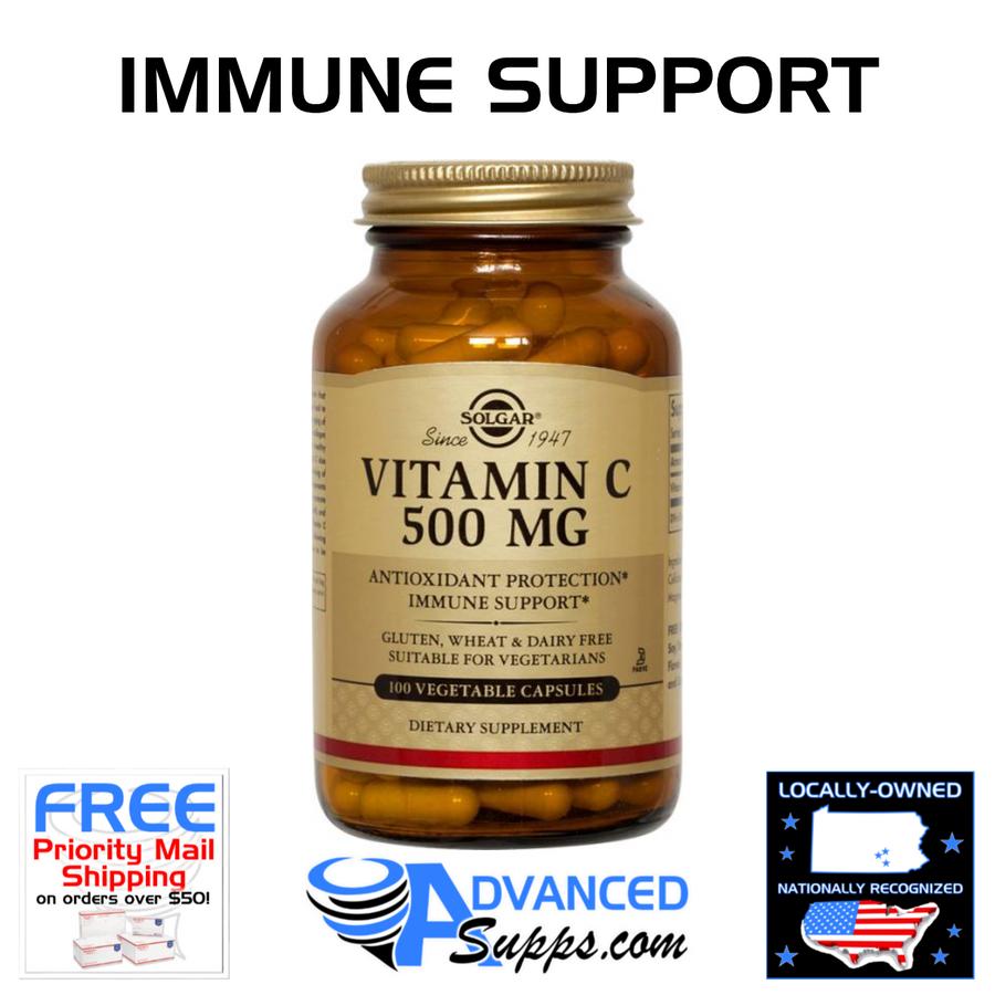 Vitamin C, 500mg (100 capsules)