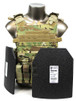 Quick Release Plate Carrier w/ Armor & Pouches
