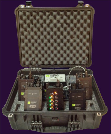 Complete 1678 Remote Firing System with 2 Electric and 2 RSTI (Nonel) Receivers