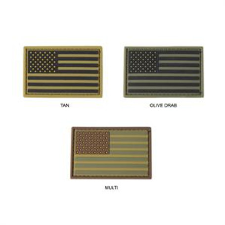 PVC Flag Velcro Patch (Pack of 6)