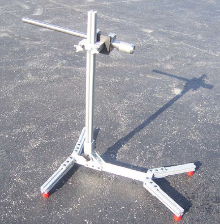 Aluminum Post Stand for Disrupter with Ultra Light Post Clamp