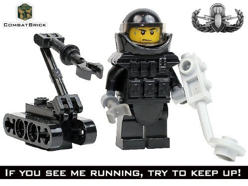US Army Juggernaut with EOD Body Armor Lego(R)