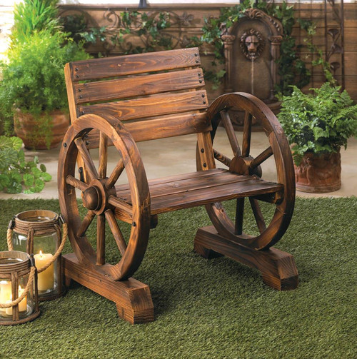 WAGON WHEEL CHAIR - Mazama Gifts