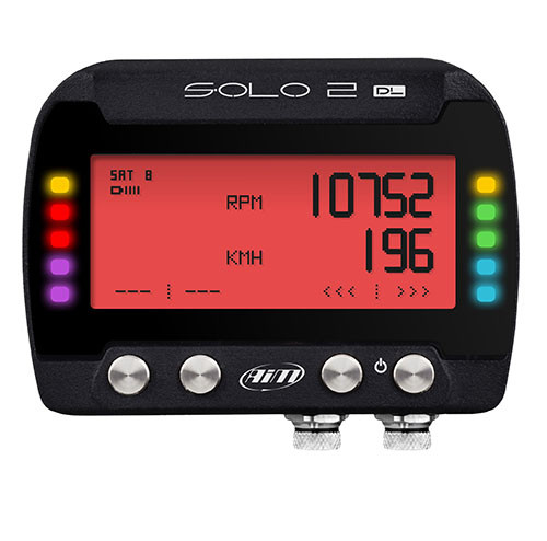 NEW! AiM SOLO 2 DL Datalogger/Lap Timer