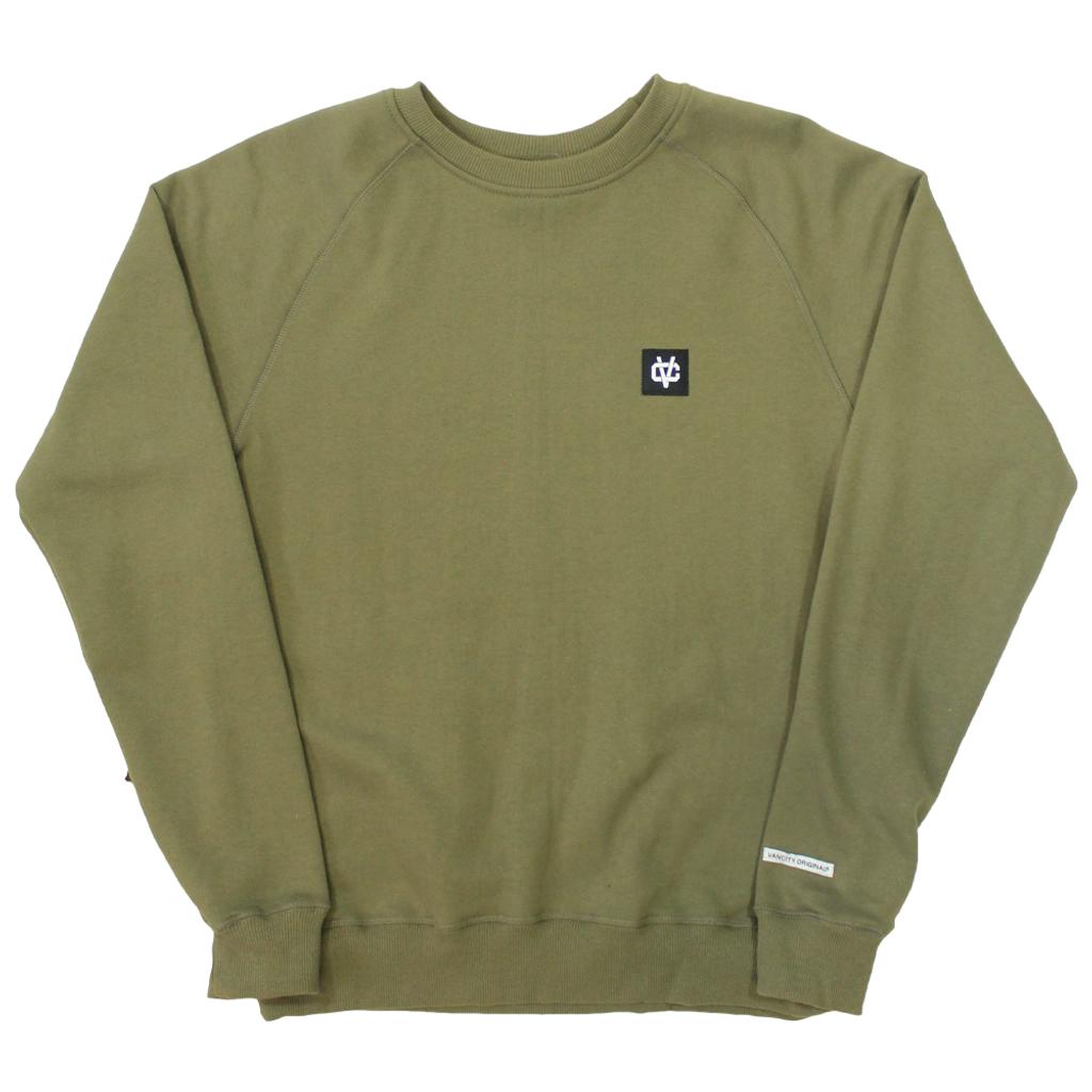 VC Link Crew Sweatshirt - Army Green