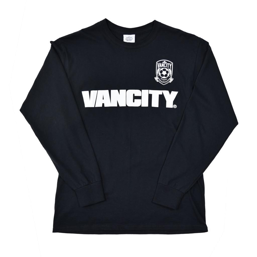 20th Anniversary Crest Long Sleeve Tee - Black