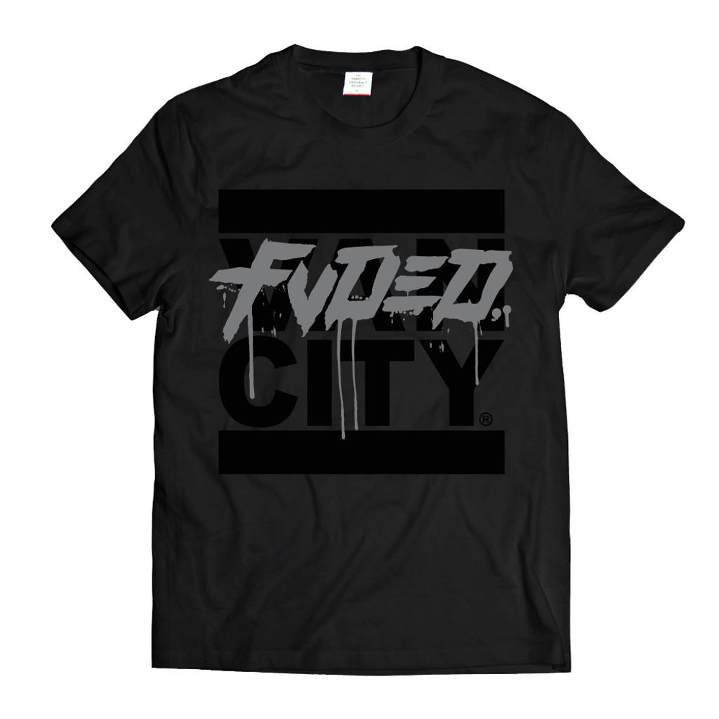 Vancity® x FVDED Get Up Tee - Black