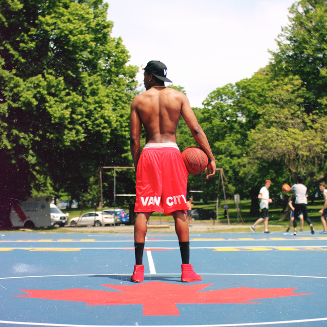VANCITY ORIGINAL® x CHAMPION MESH SHORTS