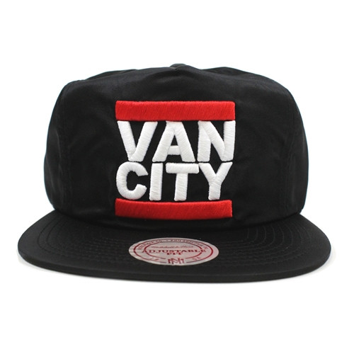 Vancity Original x Mitchell & Ness UnDMC Black Nylon Zipperback