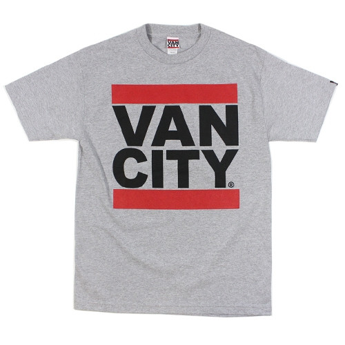 Vancity Original UnDMC Heather Grey Classic Tee Shirt