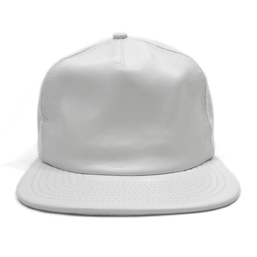 Vancity Original® x New Era Leather Vanarchy Snapback - White