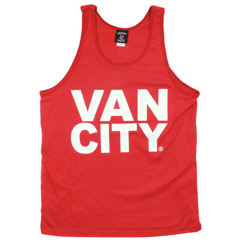 Premium Logo Tank Top - Red