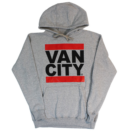 Vancity Original® New Classic Fit UnDMC Hoodie in Heather Grey - Front