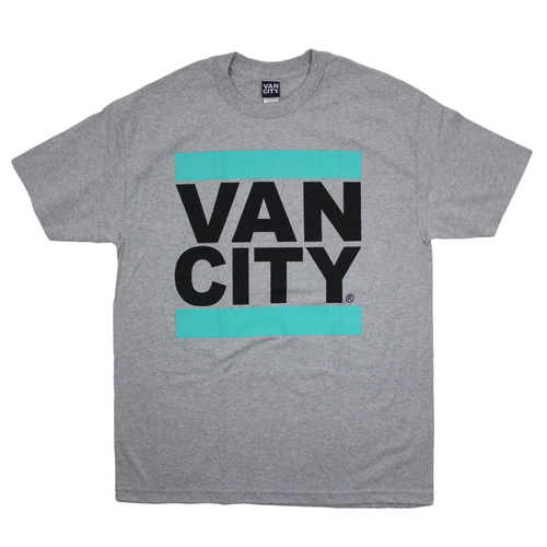 UnDMC Classic Tee Shirt - Teal/Heather Grey