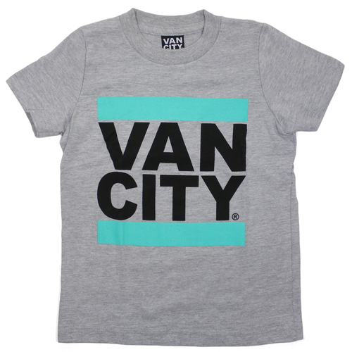 UnDMC Toddler Tee - Heather Grey/Teal