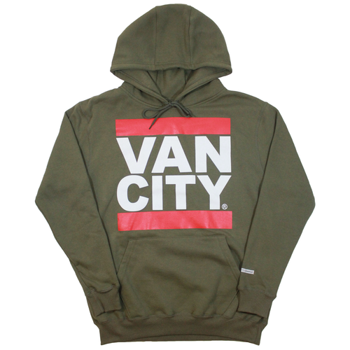 First Blood New Classic Fit UnDMC Hoodie - Army