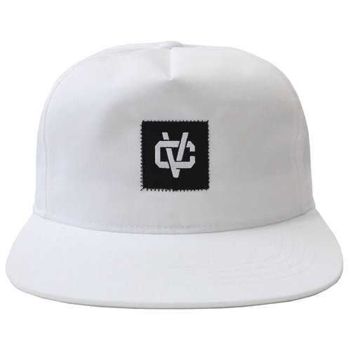 VC Link Unstructured 5-Panel Snapback - White