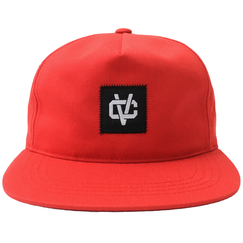 VC Link Unstructured 5-Panel Snapback - Red