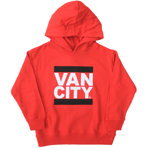 UnDMC Toddler Pullover Hoodie - Red