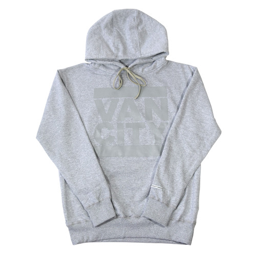 Monochrome Neutrale Hoodie - Athletic Grey
