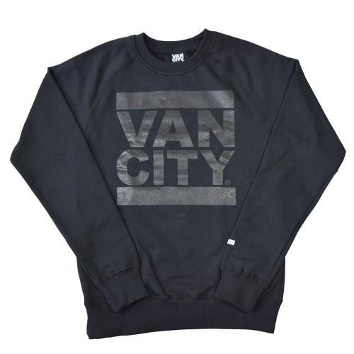 Monchrome Neutrale Crew Sweatshirt - Black