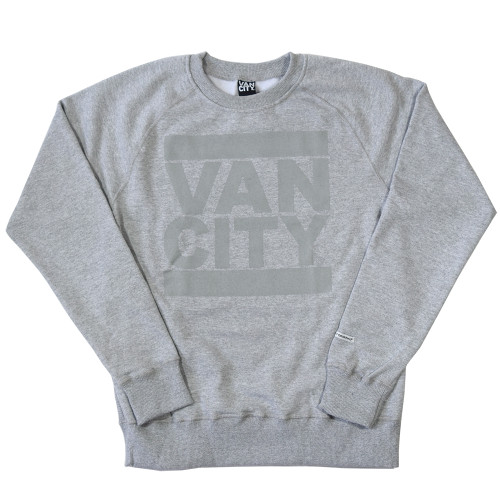 Monchrome Neutrale Crew Sweatshirt - Athletic Grey