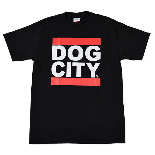 Dog City Tee - Black