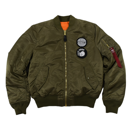 Vancity® Unchained Alpha MA-1 Bomber Jacket  - Size Large Only