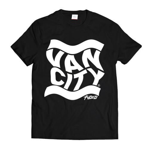 Vancity® x FVDED Trippy Tee - Black