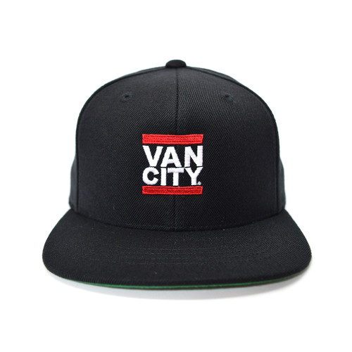 Classic UnDMC Youth Snapback - Black/Red