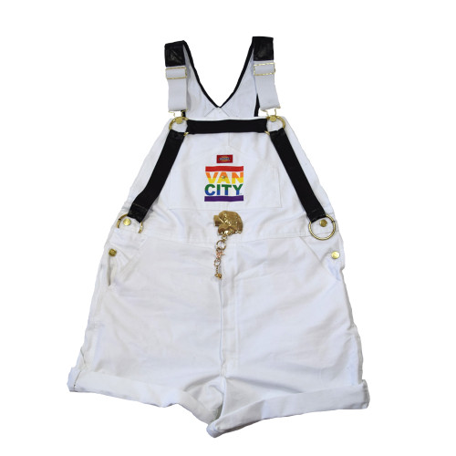 Vancity® Pride x Ciji Greene Leather Daddy Overalls - Size X-Large